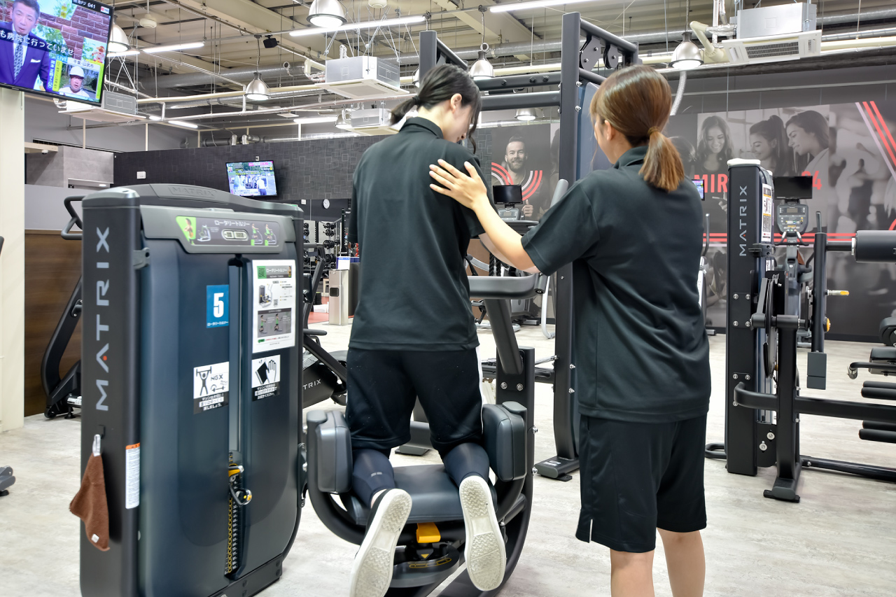 MIRA fitnessの体験の写真