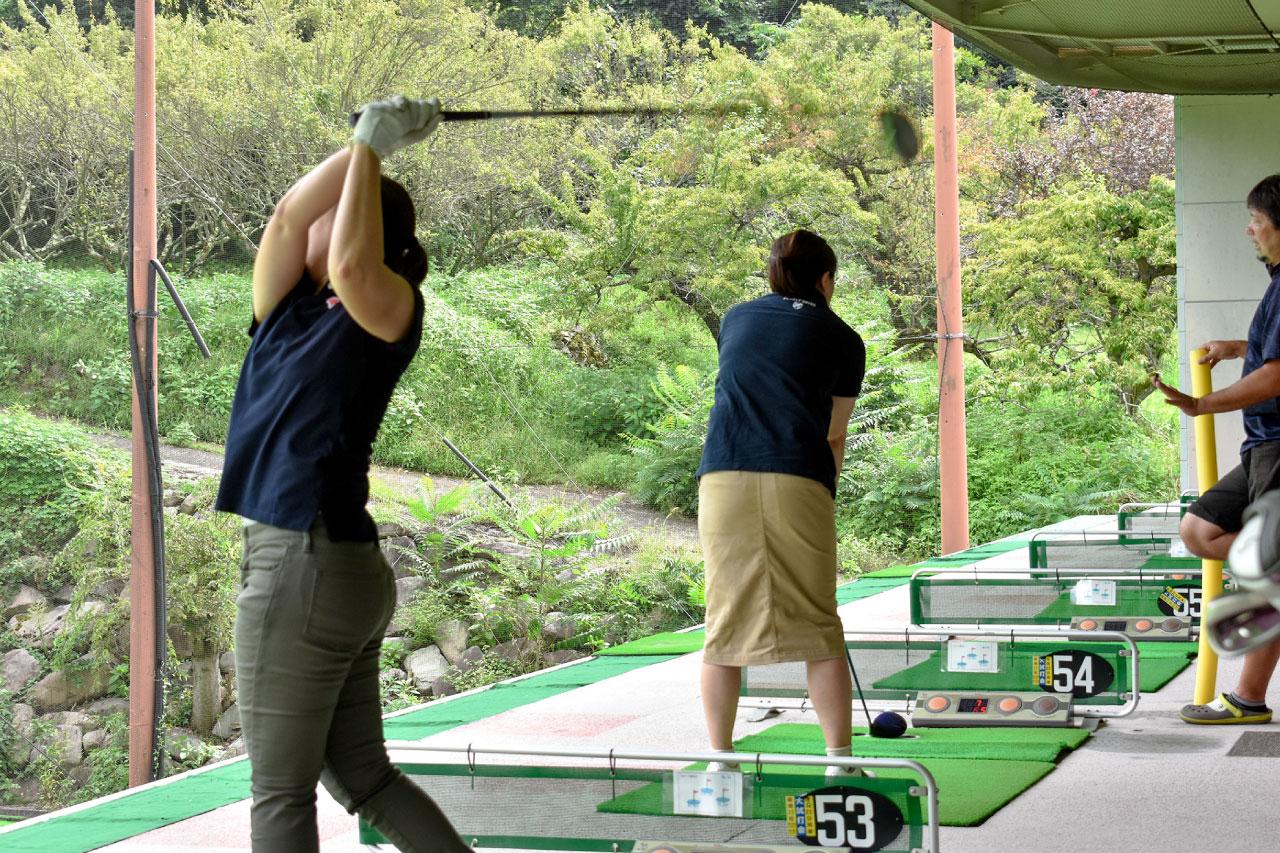 ウインドヒルゴルフ練習場の体験の写真