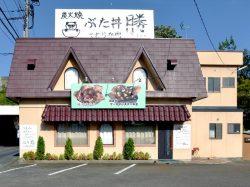 ぶた丼 勝 和食5