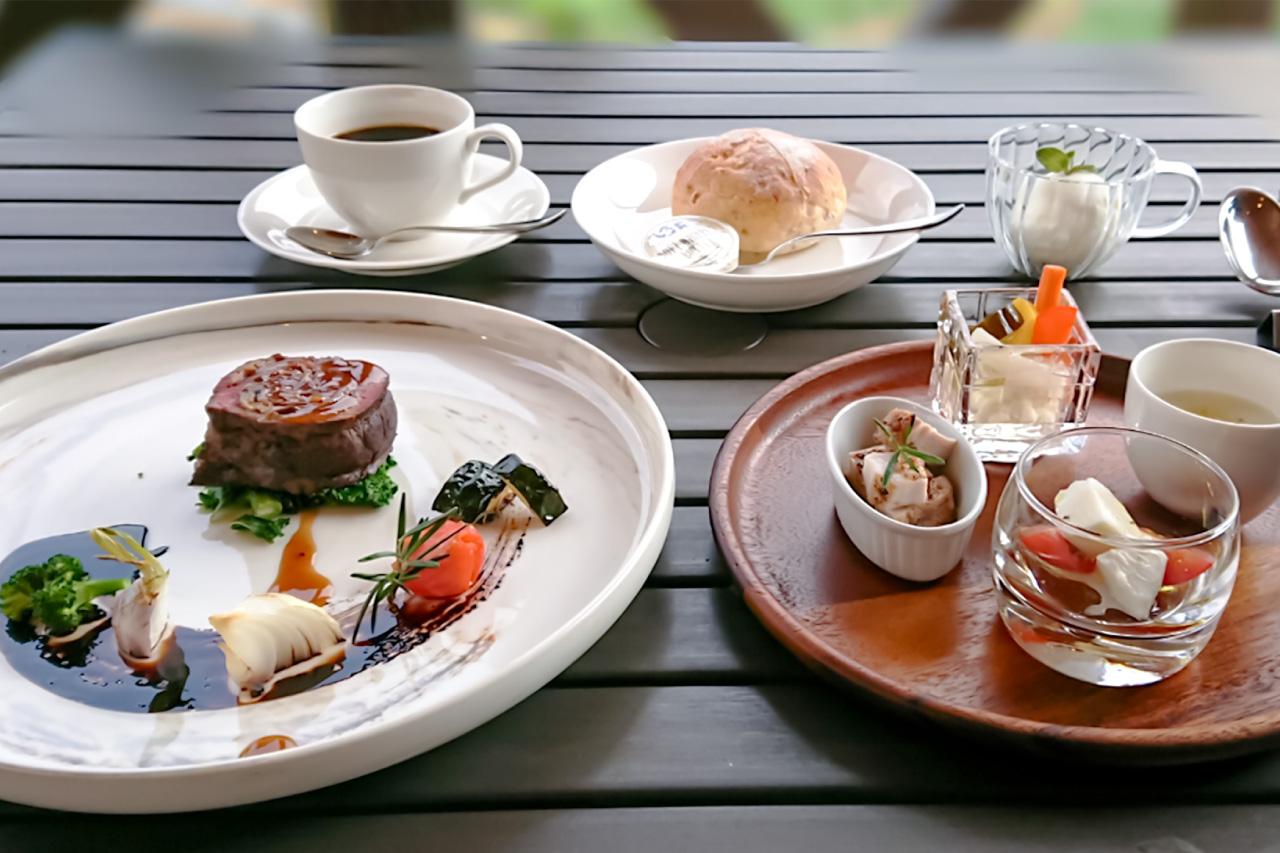 ハーベストテラス八ヶ岳の料理の写真1