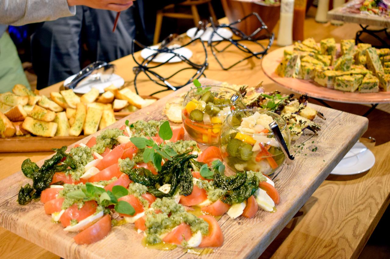ハーベストテラス八ヶ岳の料理
