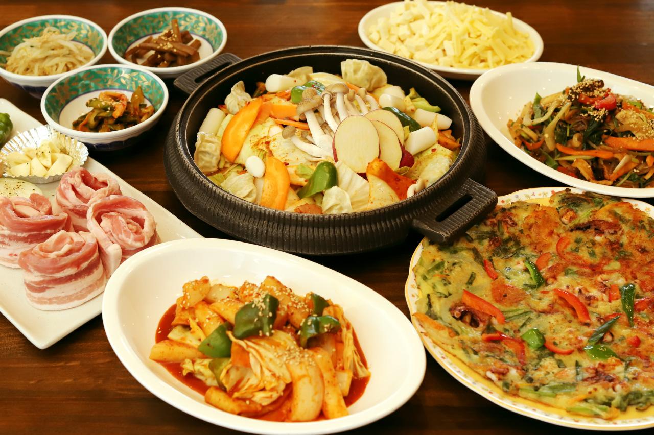 韓国料理ジャーメの料理