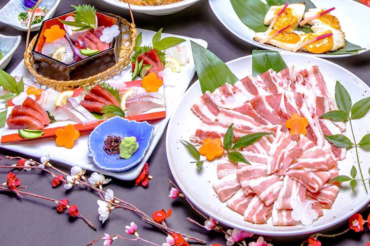 スパランド ホテル内藤の料理の写真1