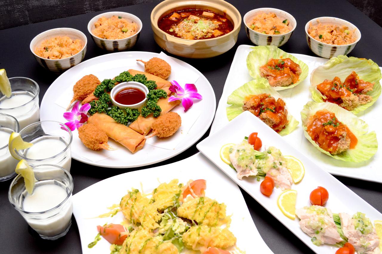 スパランド ホテル内藤の料理の写真2