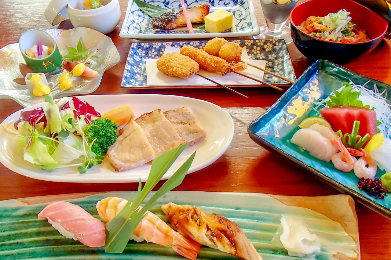 食房 うゑ松さくら寿しの料理