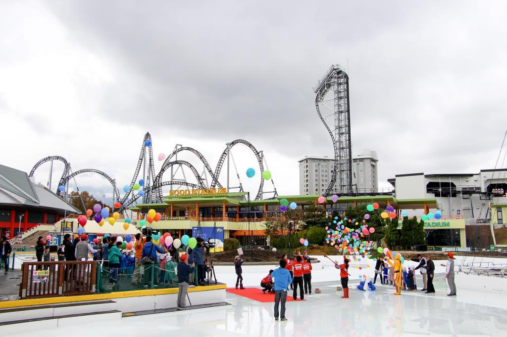 富士急ハイランド スケートリンクオープン