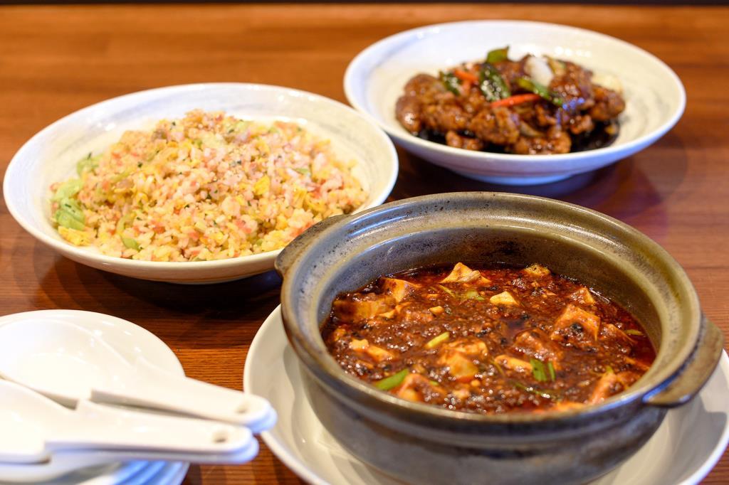 中華料理 藪 昭和町 中華1