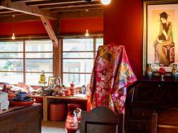蚕室カフェ 中央 和食