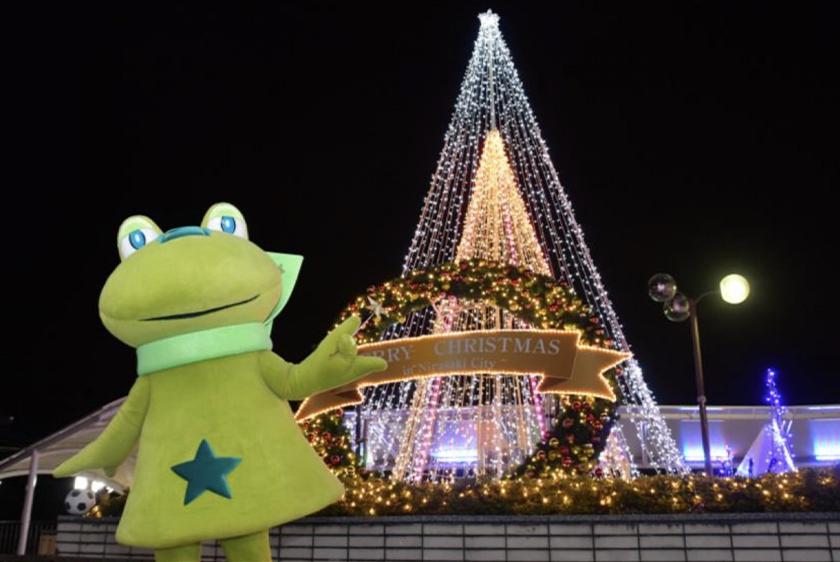 韮崎駅前広場イルミネーションのサムネイル