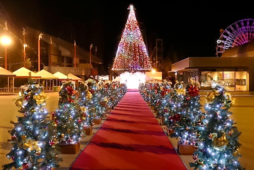 富士急ハイランドクリスマスイルミネーションのサムネイル