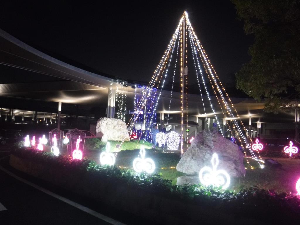 竜王駅森のイルミネーション 甲斐市 イベント 4