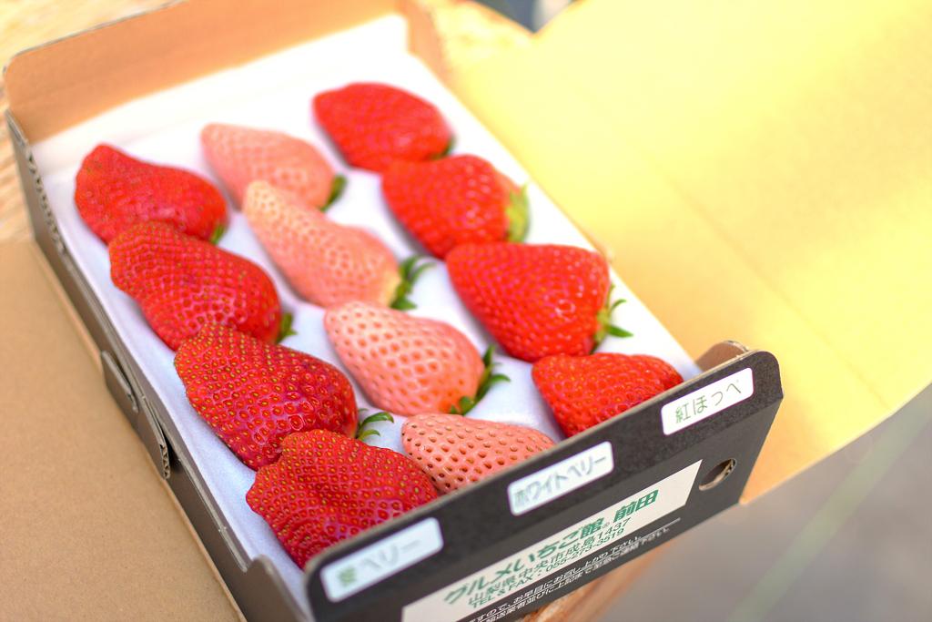 グルメいちご館前田の完熟イチゴの詰め合わせ