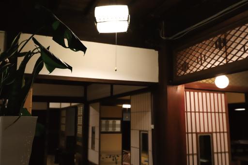 おととわ古民家カフェの入り口