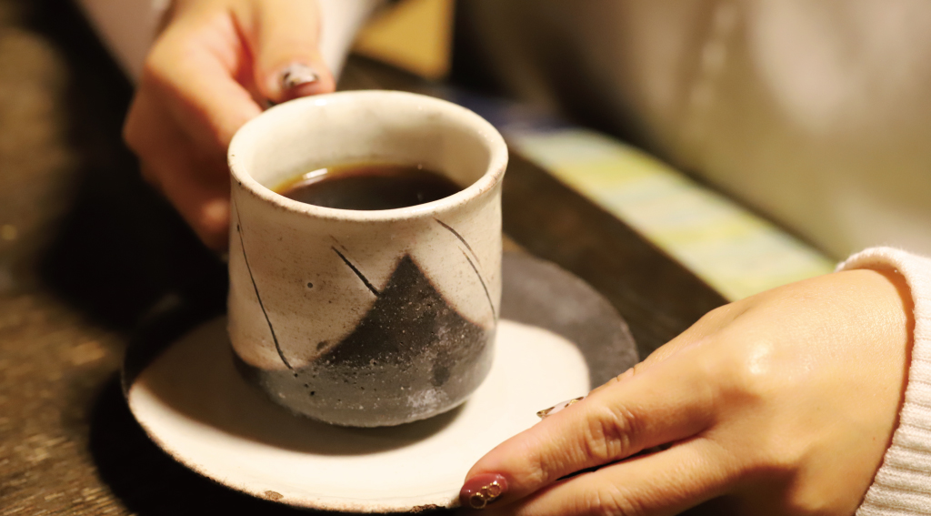 おととわ古民家カフェのコーヒー