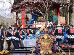 鳴沢地区 春祭り