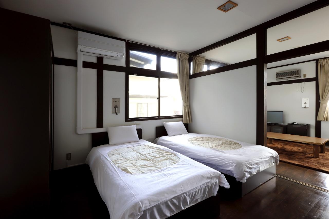 みのぶ自然の里の宿泊室
