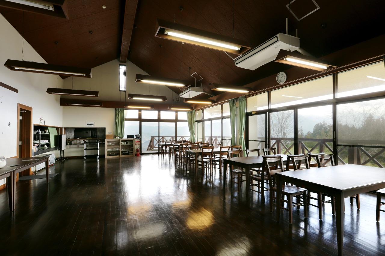 みのぶ自然の里の食堂