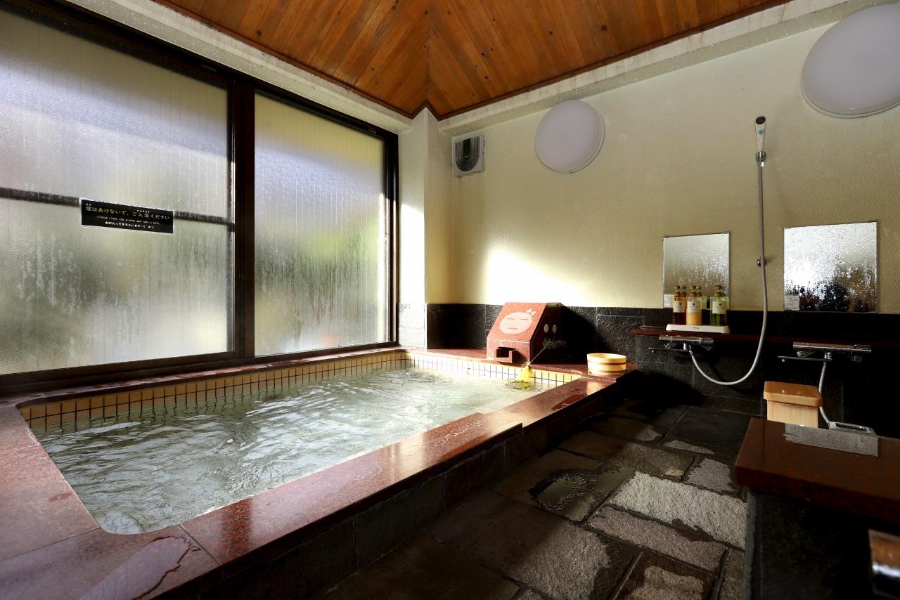 みのぶ自然の里の大浴場