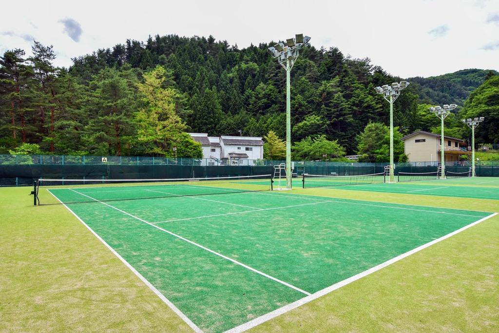 三ツ峠グリーンセンター 西桂町 スポーツ施設・テニスコート