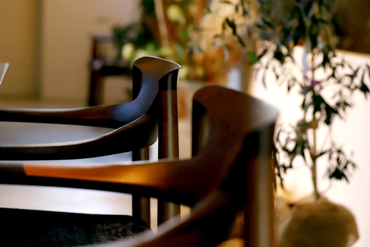 特注した北欧の椅子