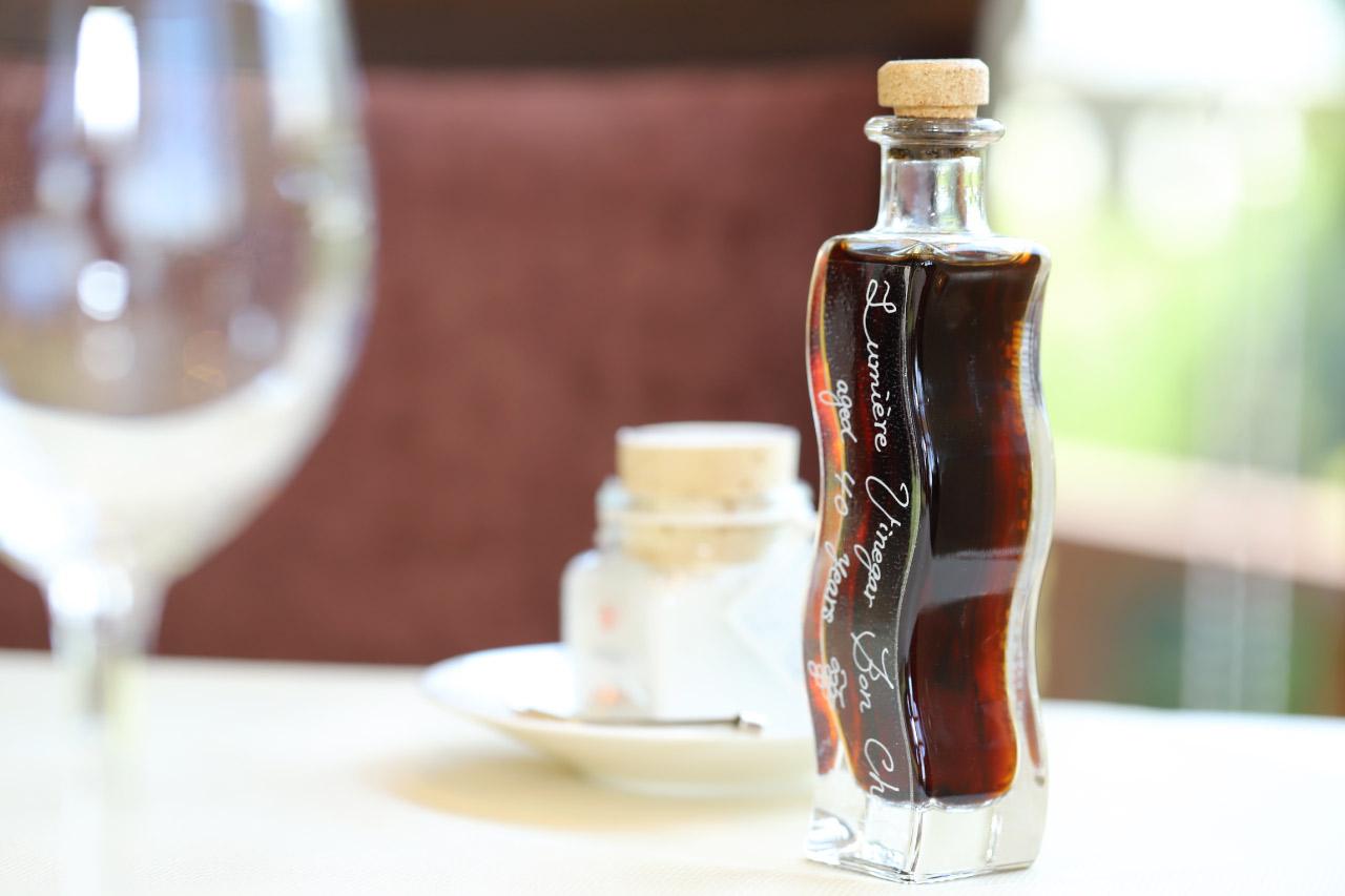スロベニアのピランソルトと自家製ワインヴィネガー