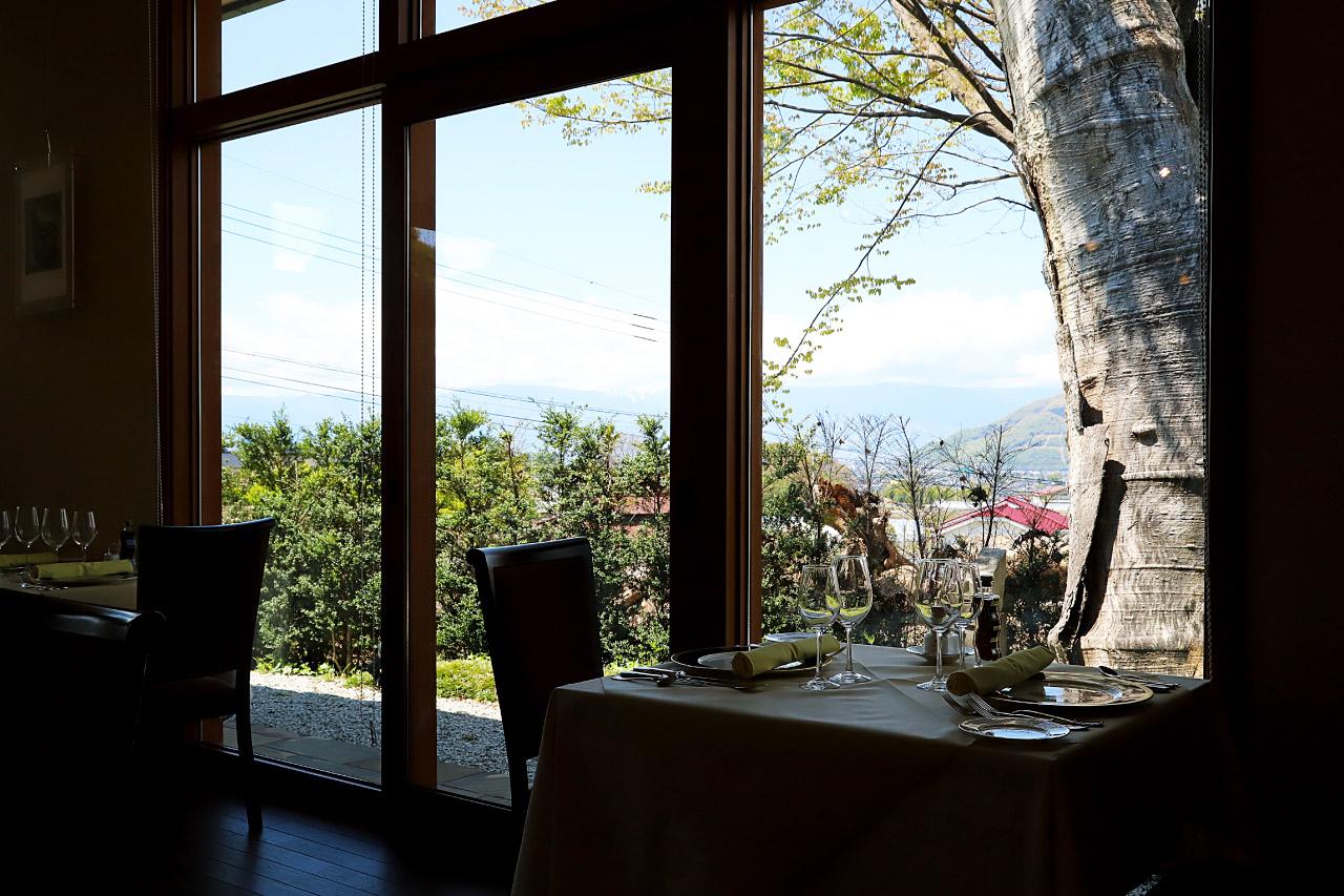ワイナリーレストラン ゼルコバの景観