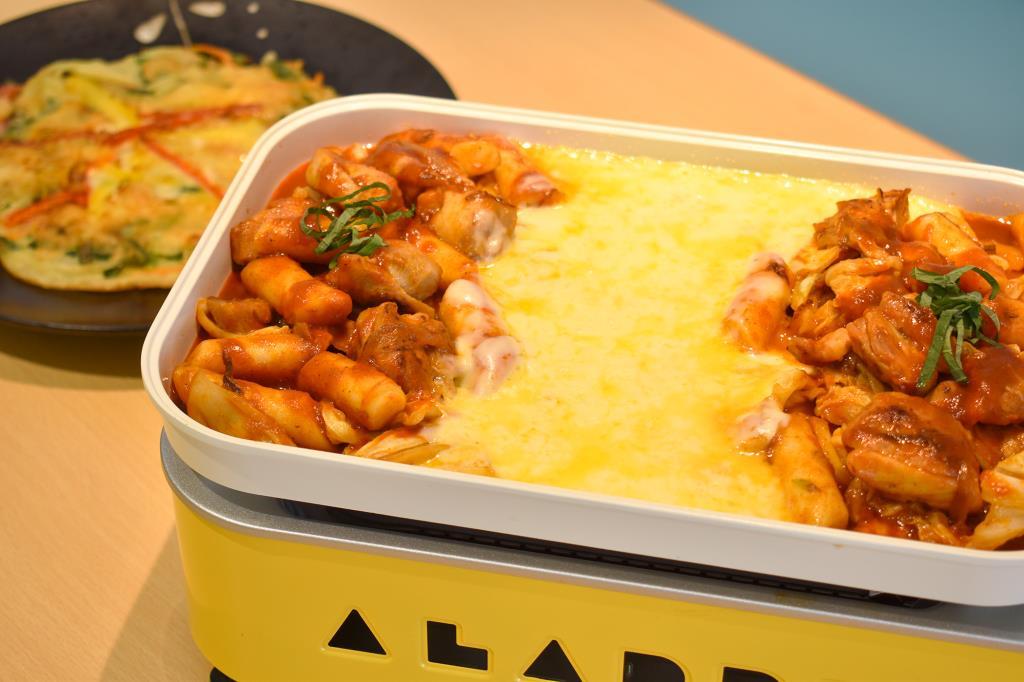 甲府 韓国料理 サランチェ1