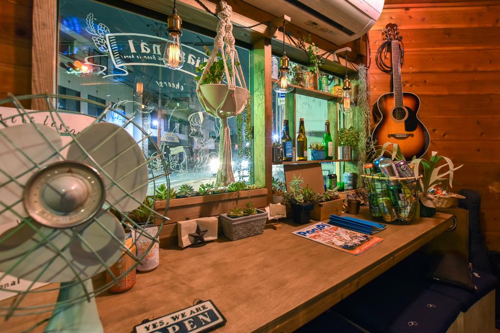 Craftbeer Bar diagonal 背景画像