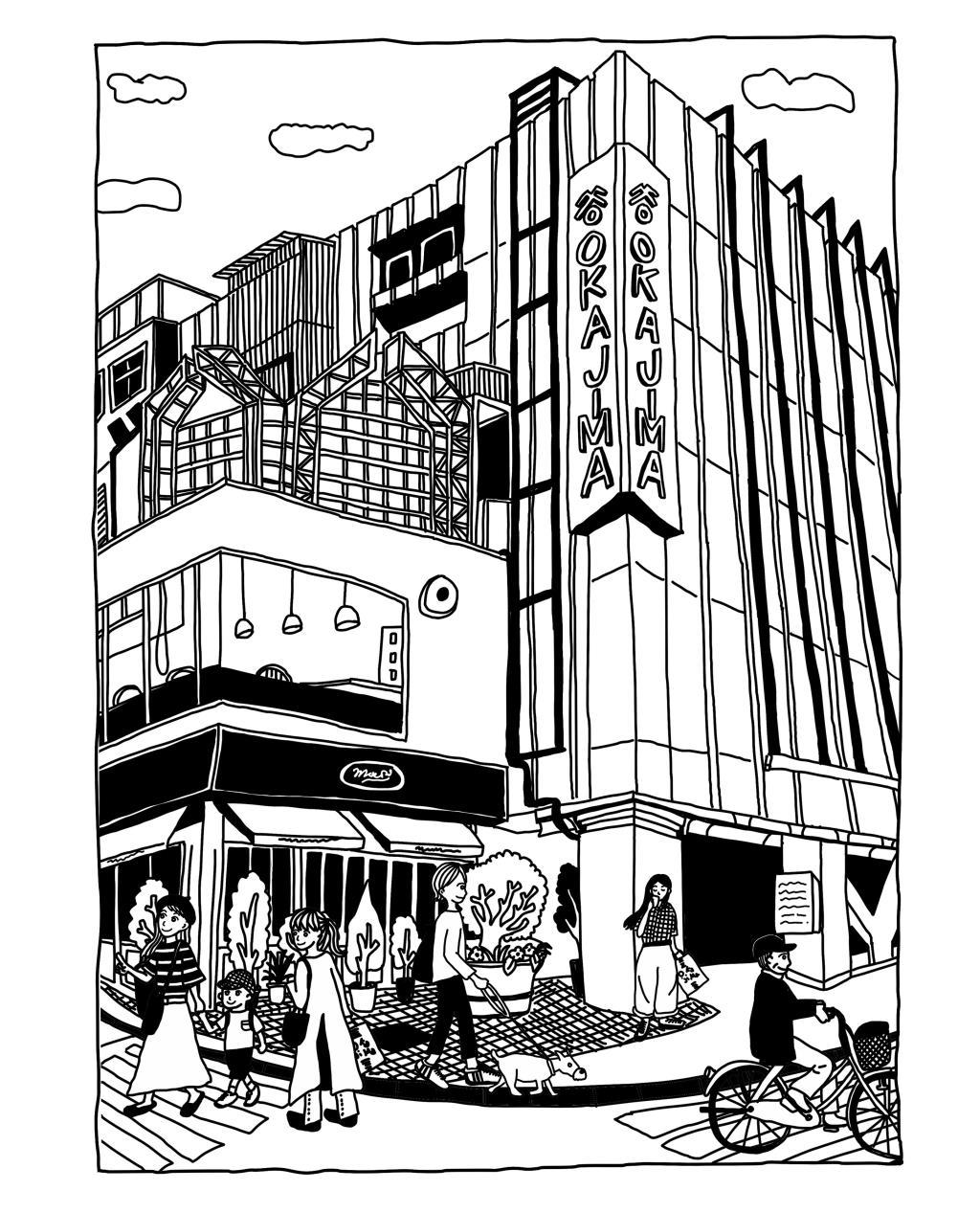 モモハナ×むろい×岡島×甲府商工会議所 チャリティTシャツ