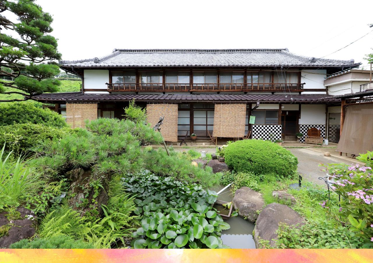 Katsunuma縁側茶房の外観