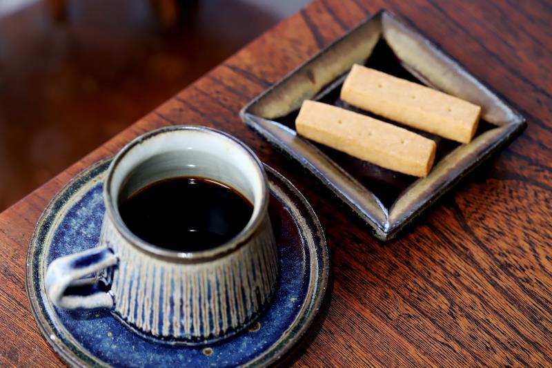 珈琲雨待ち 甲府 喫茶1