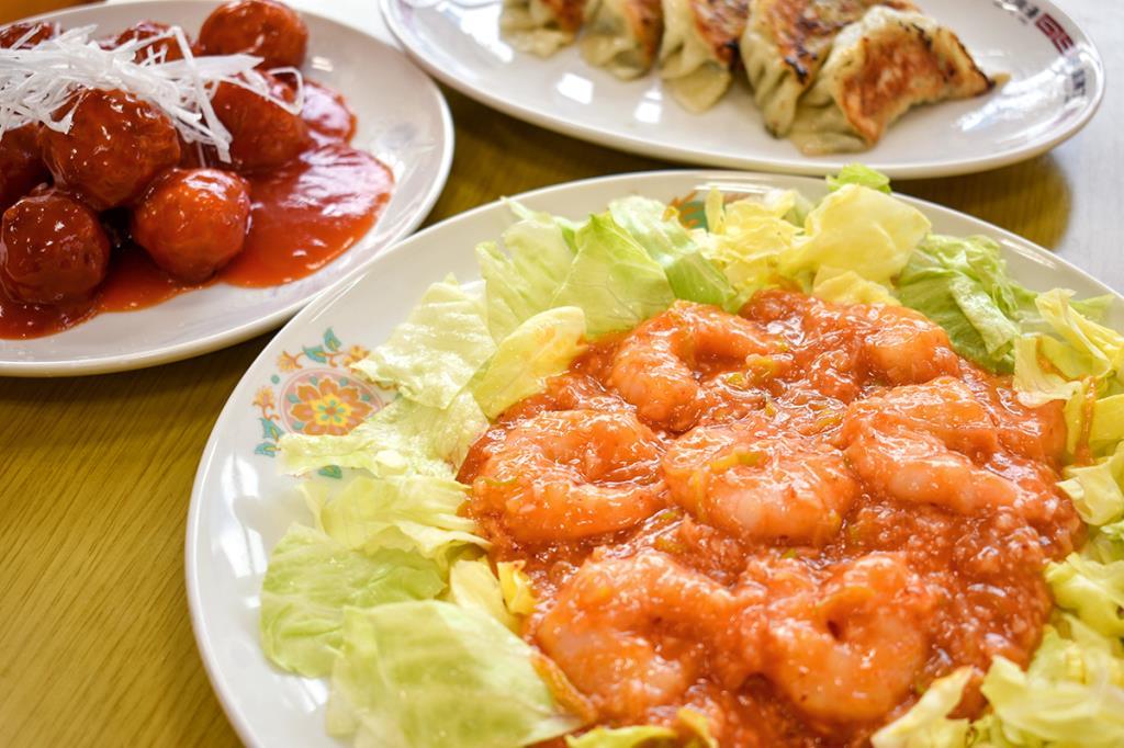 チャイナレストラン揚子江 南アルプス市 中華