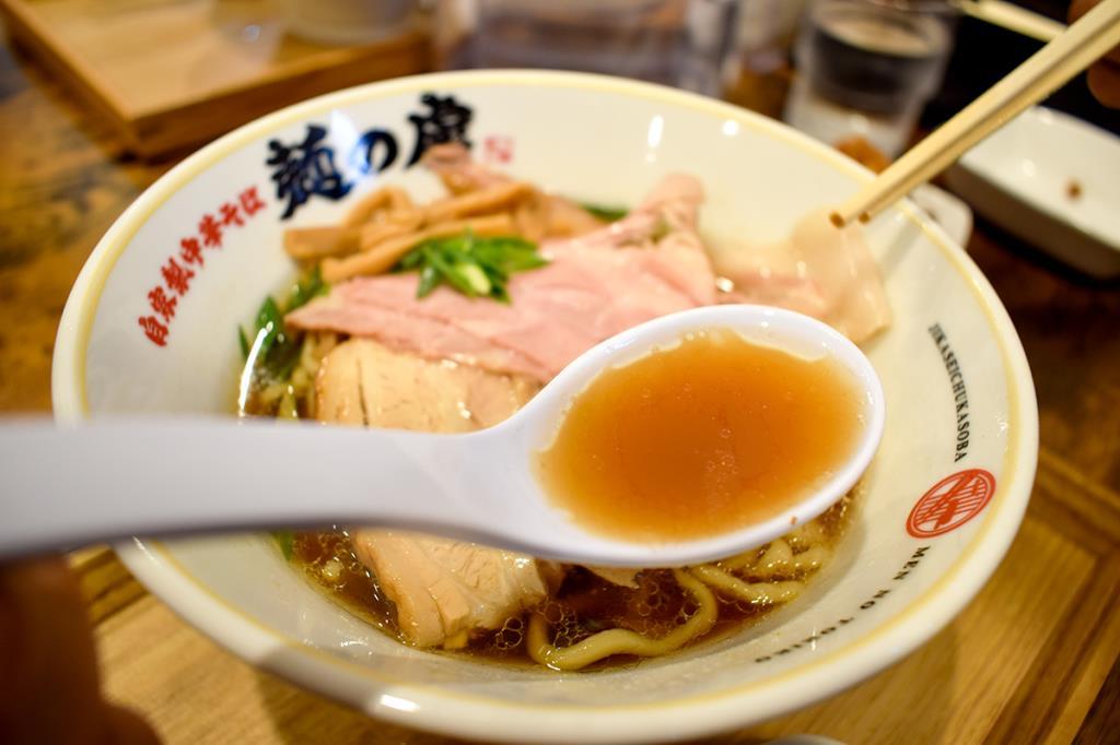 自家製中華そば麺の虜 昭和町に移転オープン!