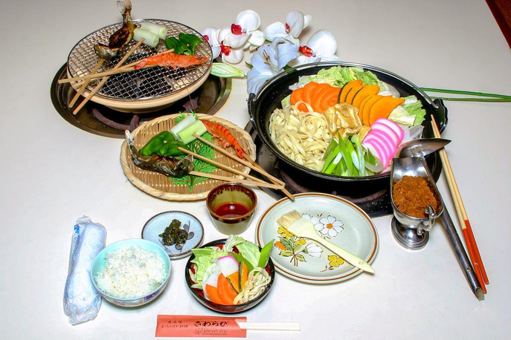 昇仙峡さわらび 甲府 和食・ほうとう