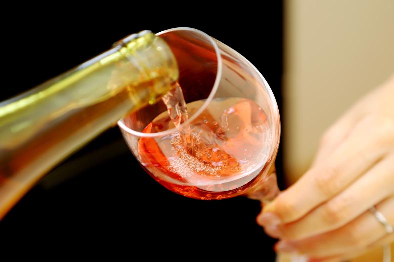ドメーヌヒデのワイン シロシロピンク2