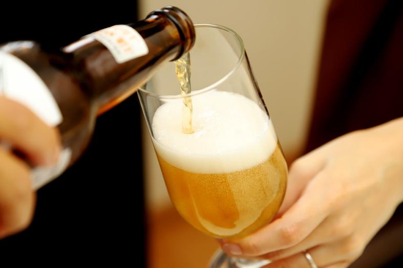 アウトサイダーブルーイングのクラフトビール ブーケ ベルジャンウィット2