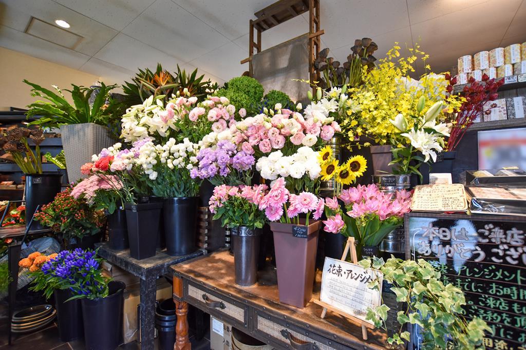 flower goto 甲府市 花屋