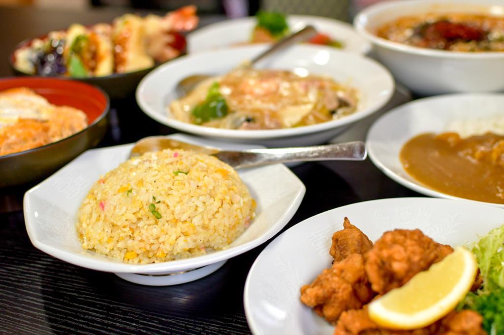 ファミリー食堂 宝来 都留市 和食・中華