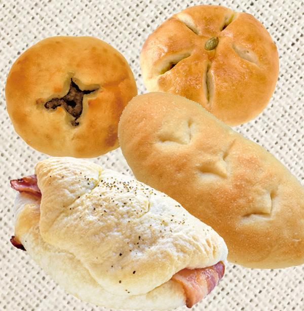 BAKERY CAFE いちごいちえ 会場で購入できるパン
