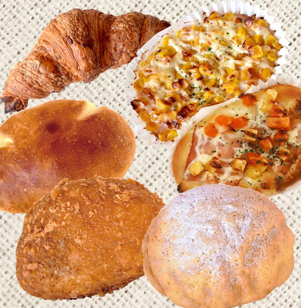 山梨パン工房 モンマーロ 会場で購入できるパン