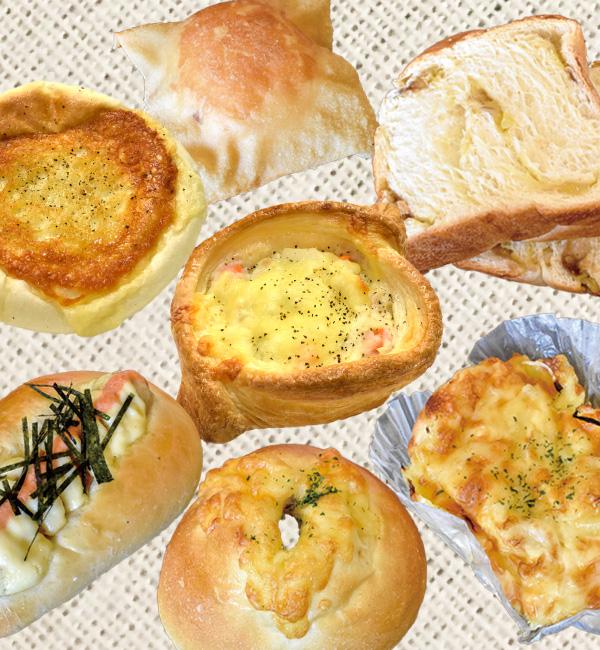 てづくりパン なないろこむぎ 会場で購入できるパン