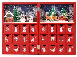 Christmas Advent Calendar 木製アドベントカレンダーブック