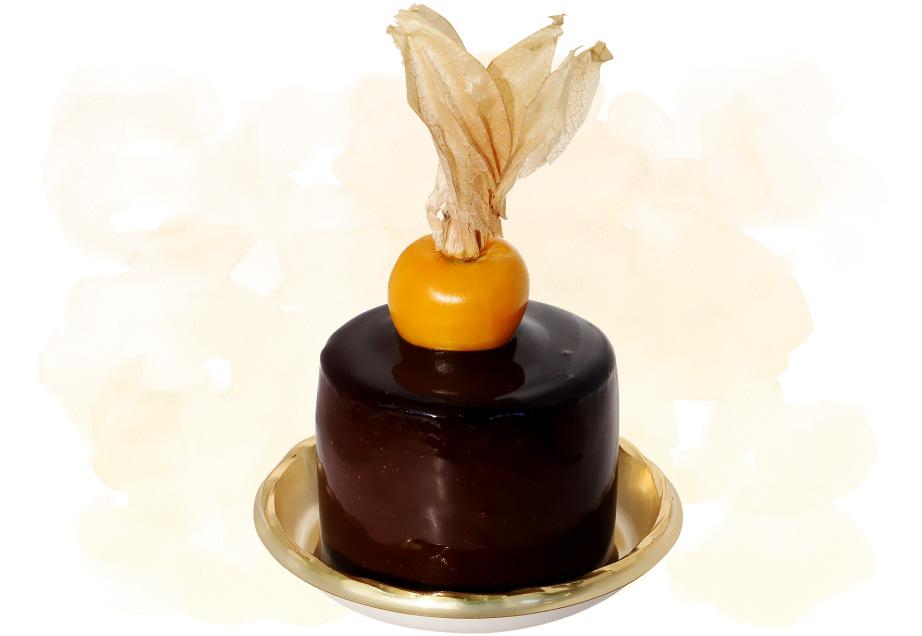 Café Karfaのケーキ「ショコラ・リチ」