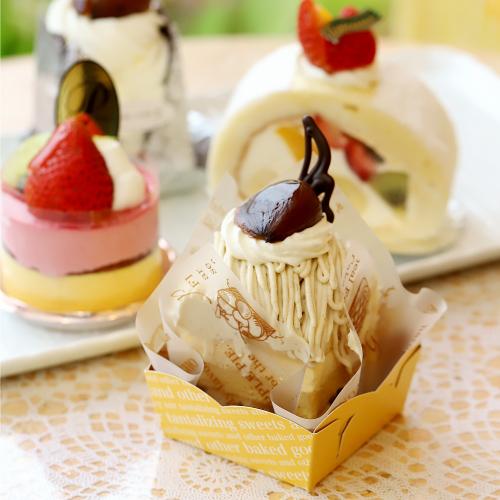 「フランス菓子の店 巴里(パリ)」のケーキをみる