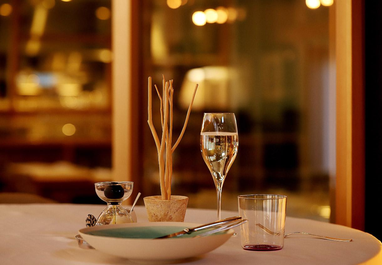 レストラン ル・ピオニエの店内