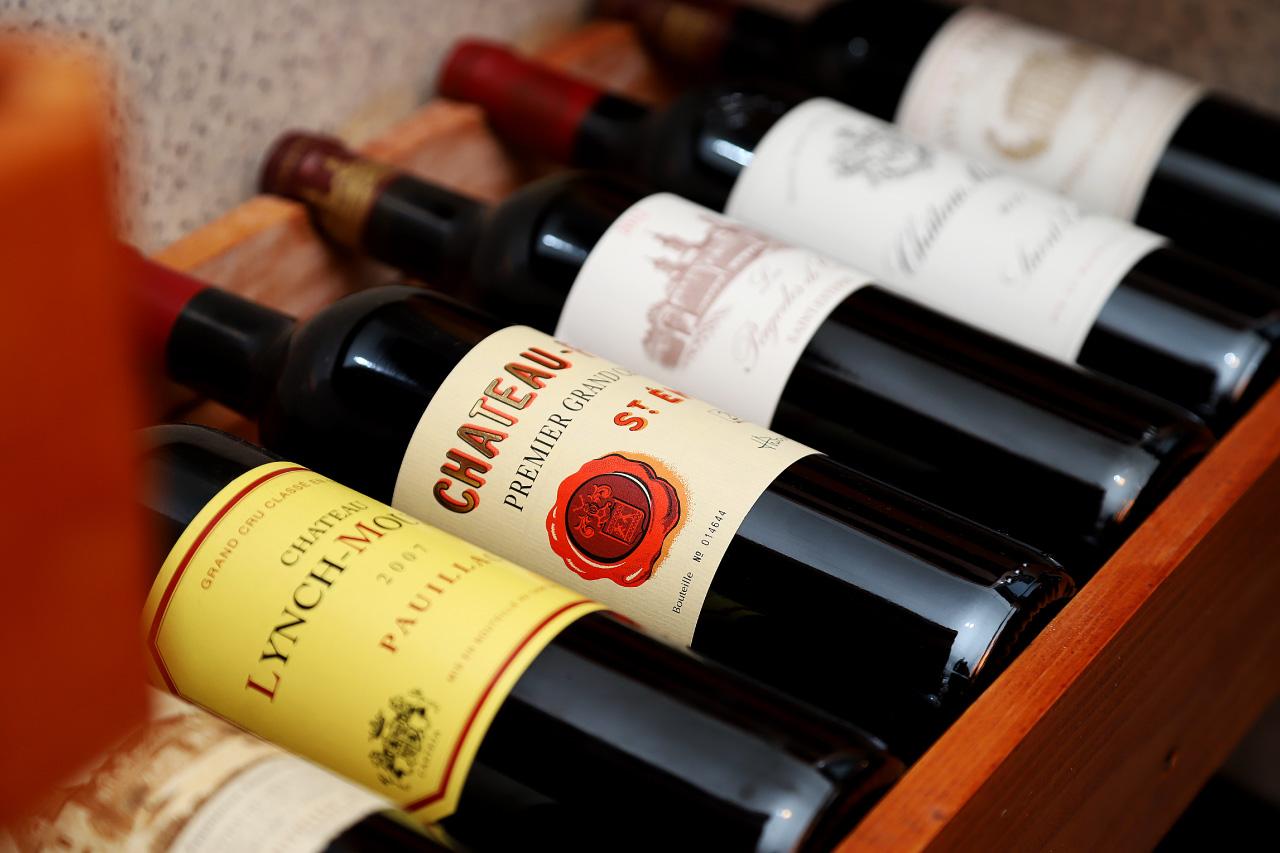 Miura料理店のワイン