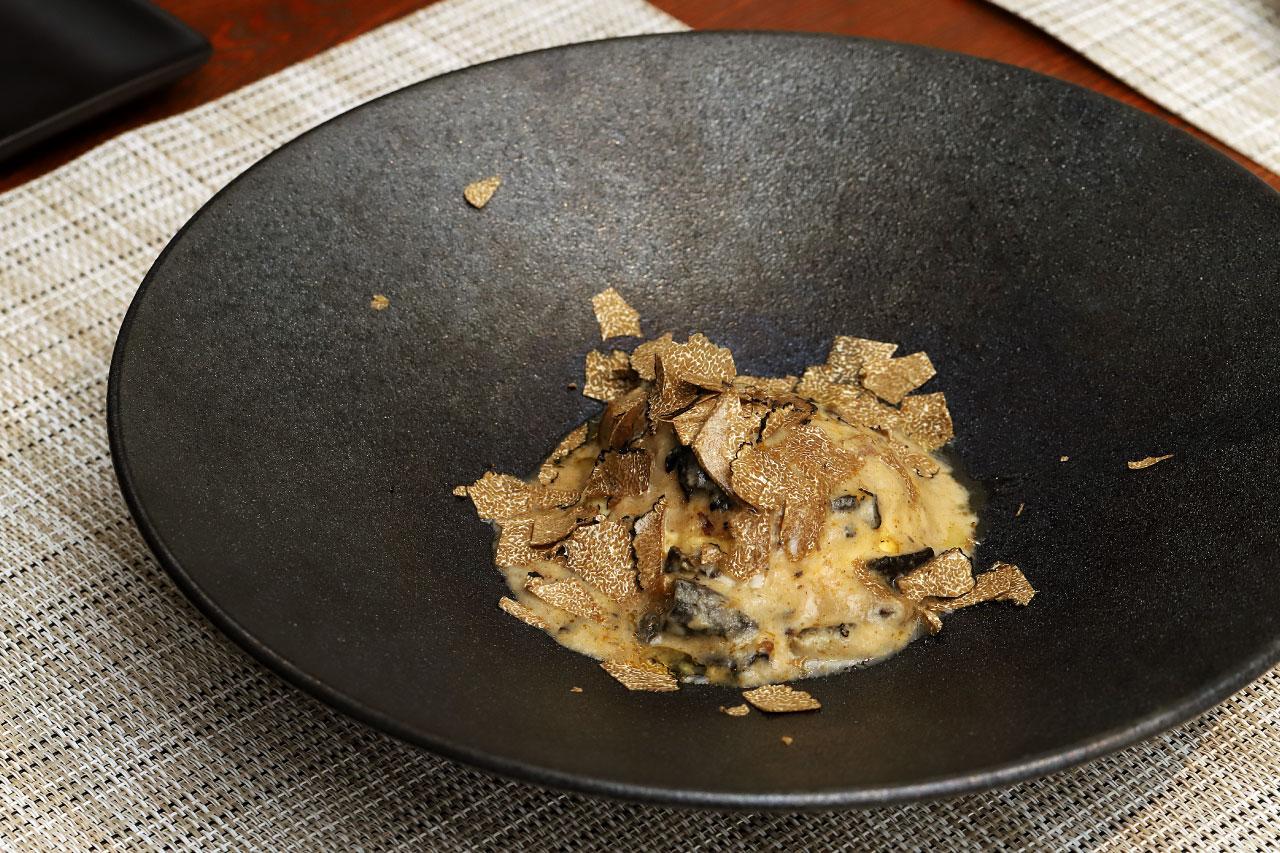 Miura料理店の洋風茶碗蒸し