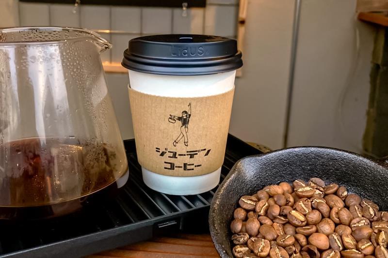 JUUDEN COFFEE 鳴沢 カフェ1