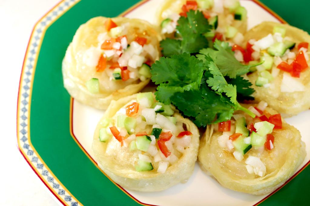 MACARONI CLUBの海鮮餃子