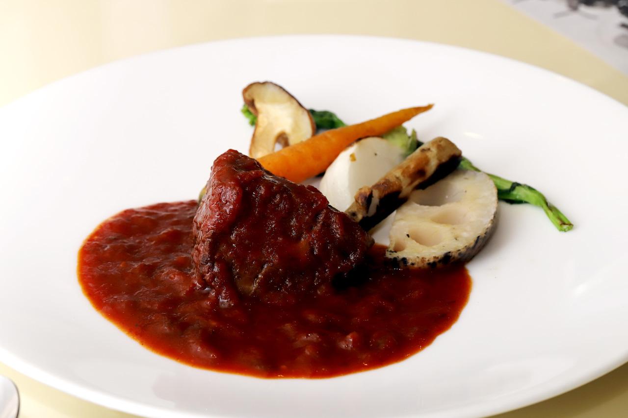 トラットリア ピッツェリア チリンドロのメイン料理
